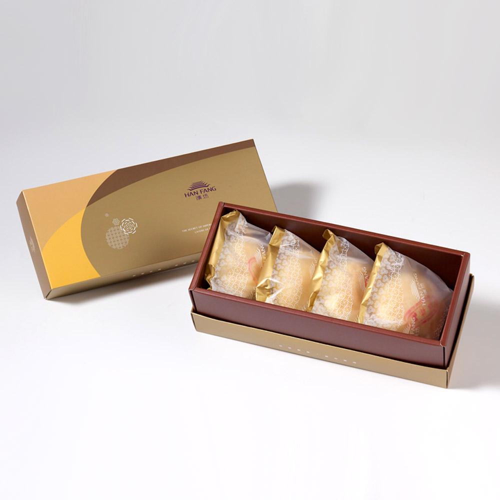 黑礹/&�yi)_icarry - 汉坊饼艺 【御点】纯绿豆椪4入礼盒(蛋奶素)