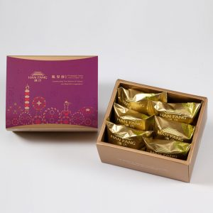 【Mini Collections】Walnut Pineapple Cake 6 pcs Gift Box