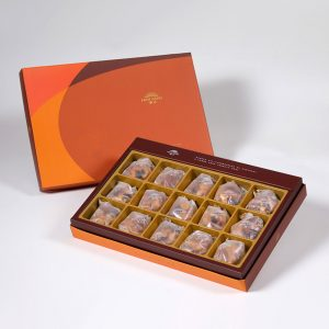 【Orange Gold】Mixed Nut Tart 15 pcs Gift Box