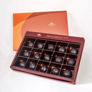【Orange Gold】70% Belgium Chocolate Mooncake 15 pcs Gift Box