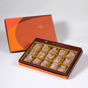 【Orange Gold】Spicy Macadamia Tart 15 pcs Gift Box