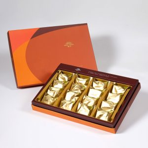 【Orange Gold】Salty Yolk Pineapple Cake 16 pcs Gift Box