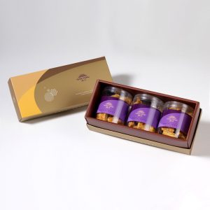 【Golden Elegancy】Hand-made Almond Milk Cookie 3 pcs Gift Box