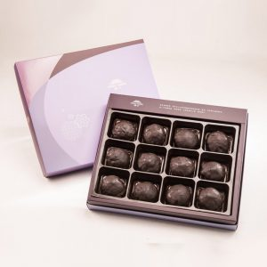 【Royal Purple】70% Belgium Chocolate Mooncake 12 pcs Gift Box