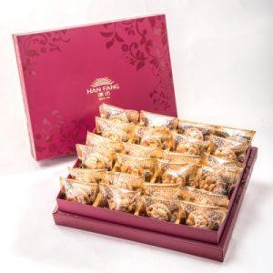 【Ruby Red】Macadamia Nut Tart 24 pcs Gift Box