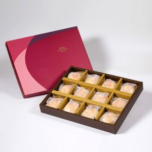 【Ruby Red】Mung Bean Traditional Mooncake 12 pcs Gift Box