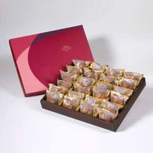 【Ruby Red】Spicy Macadamia Tart 24 pcs Gift Box