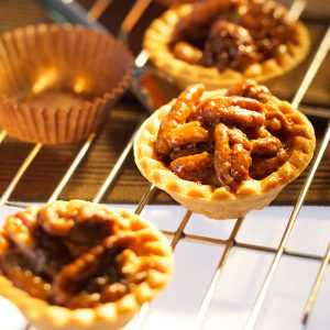 Coffee Pecan Tart
