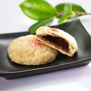 "HanFang Sun Cookies with Tenderly ""Q"" Okinawa Brown Sugar Fillings"