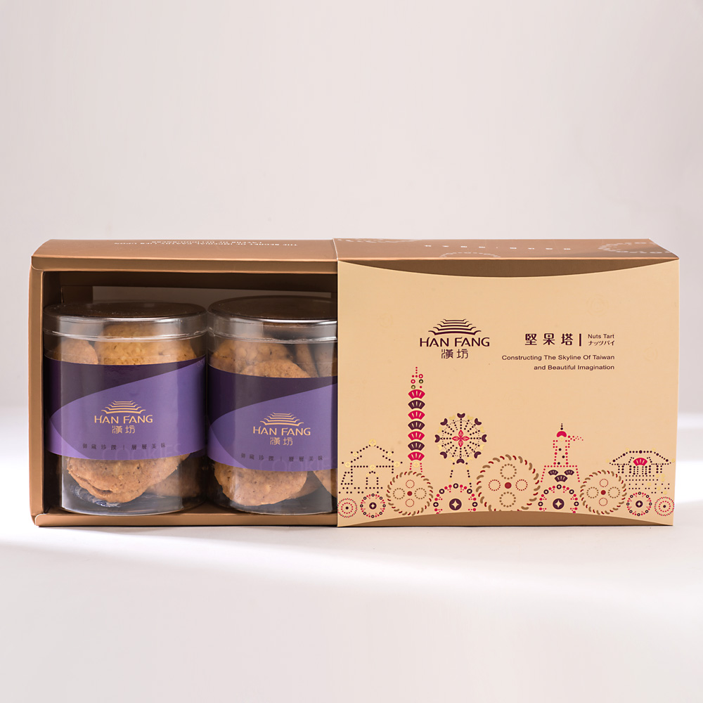 【典藏】原味杏仁手工餅乾2入禮盒