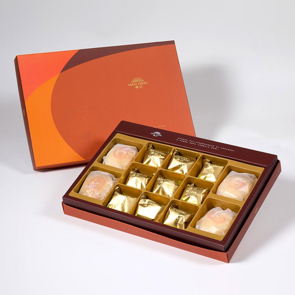 【御藏】綜合13入禮盒★綠豆椪2+純綠豆椪2+土鳳梨酥9