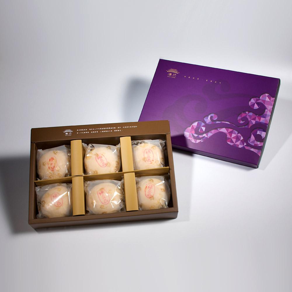 【臻饌】綠豆椪6入禮盒