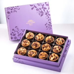 【Royal Purple】Mixed Nut Tart 12 pcs Gift Box