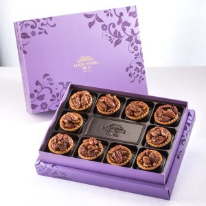 【Royal Purple】Coffee Pecan Tart 10 pcs Gift Box