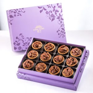 【Royal Purple】Coffee Pecan Tart 12 pcs Gift Box