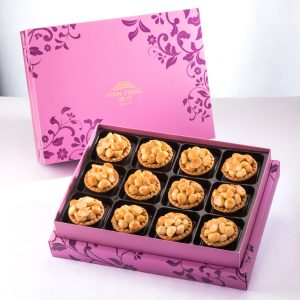 【Royal Purple】Macadamia Tart 10 pcs Gift Box