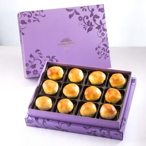 【Royal Purple】Caramel Chestnut Mooncake 12 pcs Gift Box
