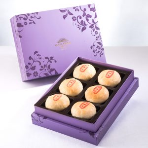 【Royal Purple】Mung Bean Traditional Mooncake 6 pcs Gift Box