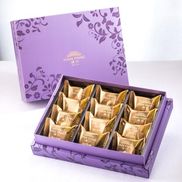 【臻饌七十周年限量款】綜合12入禮盒★鳳梨酥6+土鳳梨酥6(紫)