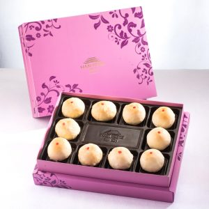 【Royal Purple】Mini Mung Bean Mooncake 10 pcs Gift Box