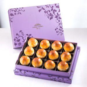 【Royal Purple】Salty Yolk Mung Bean Mooncake 12 pcs Gift Box