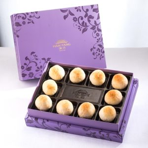 【Royal Purple】Golden Salty Yolk Duels Bean Mooncake 10 pcs Gift Box