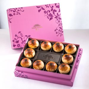 【Royal Purple】Golden Salty Yolk Duels Mooncake 10 pcs Gift Box