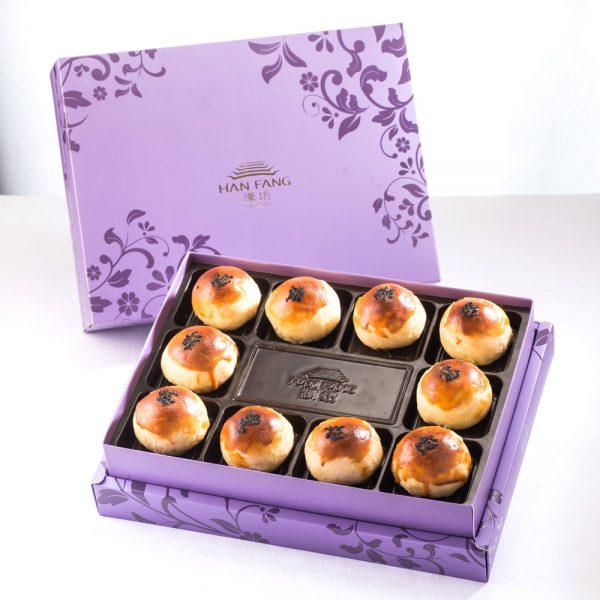 【臻饌七十周年限量款】金韻蛋黃酥10入禮盒(紫)