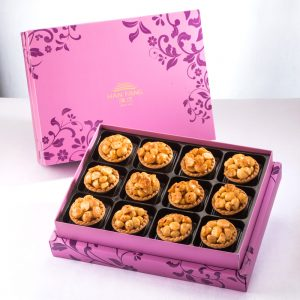 【Royal Purple】Spicy Macadamia Tart 12 pcs Gift Box