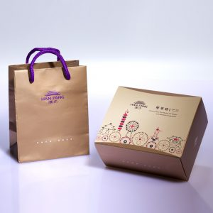 【Mini Collections】2 pcs Gift Box★Hand-made Almond Chocolate Cookie+Almond Milk Cookie
