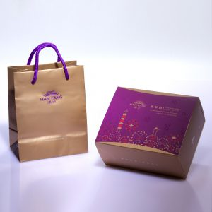 【Mini Collections】Pork Mung Bean Traditional Mooncake 3 pcs Gift Box