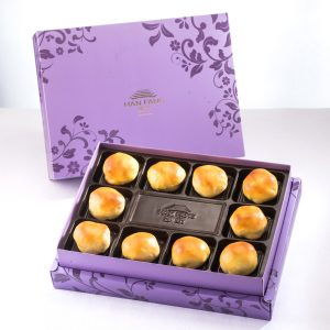 【Royal Purple】Red Bean With Mochi 10 pcs Gift Box