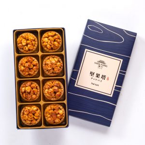 【Golden Elegancy】Spicy Macadamia Nut Tart 8 pcs Gift Box