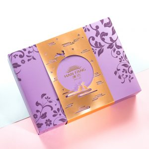 【Royal Purple】Caramel Chestnut Mooncake 12 pcs Gift Box