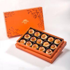 【御藏】アヒルの卵黄月餅15枚ギフトセット