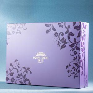 【臻饌七十周年限量款】綜合12入禮盒★鳳梨酥*8+綠豆小月餅*4(紫)(蛋奶素)