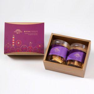 【典藏】杏福燒手工餅乾2入禮盒(蛋奶素)