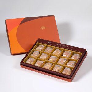 【御藏】夏威夷豆堅果塔15入禮盒(蛋奶素)