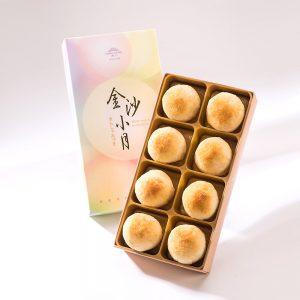 【御點】金沙弄月8入禮盒(蛋奶素)