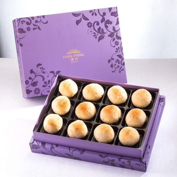 【臻饌七十周年限量款】漢坊金沙小月12入禮盒紫