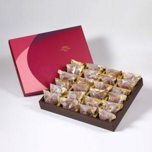 【金饌】咖啡胡桃堅果塔24入禮盒(蛋奶素)