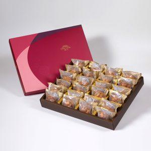 【金饌】香辣夏威夷豆堅果塔24入禮盒