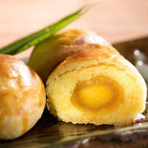 漢坊特製鴨蛋與綠豆沙結合的鹹香酥鬆口感【蛋黃酥】蛋奶素
