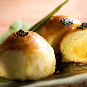 漢坊白綠豆沙與碎蛋交融的驚豔口感【金韻蛋黃酥】蛋奶素