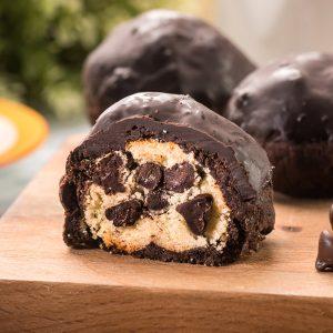 比利時巧克力與香甜白豆沙的結合【水滴巧酥】蛋奶素