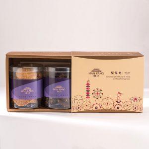 【典藏】手工餅乾綜合2入禮盒★原味杏仁+杏仁巧克力手工餅乾(蛋奶素)