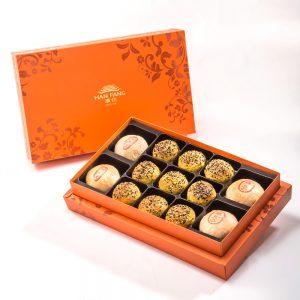 【御藏】綜合13入禮盒★綠豆椪*2+純綠豆椪*2+南洋咖哩酥*9(純綠豆椪為蛋奶素)