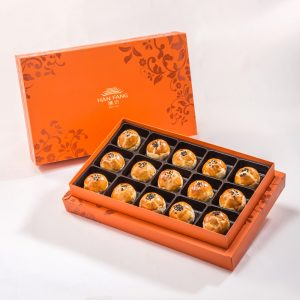 【御藏】沖繩黑糖蛋黃酥15入禮盒(蛋奶素)