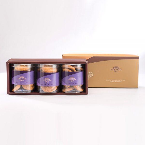 【御點】原味杏仁手工餅乾3入禮盒