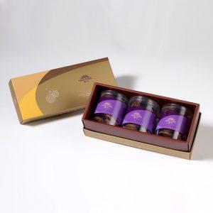 【御點】巧克力手工餅乾3入禮盒(蛋奶素)